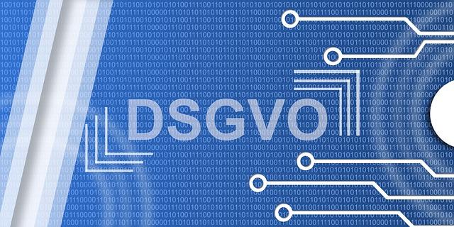 Sie sehen DSGVO Zeichen Kossmedia